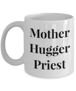 Mother Hugger Priest Gag Gift for Coworker Boss Retirement or Birthday - Ribbon Canyon