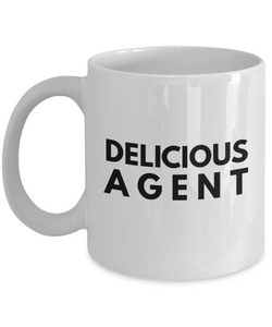 Delicious Agent - Birthday Retirement or Thank you Gift Idea -   11oz Coffee Mug - Ribbon Canyon