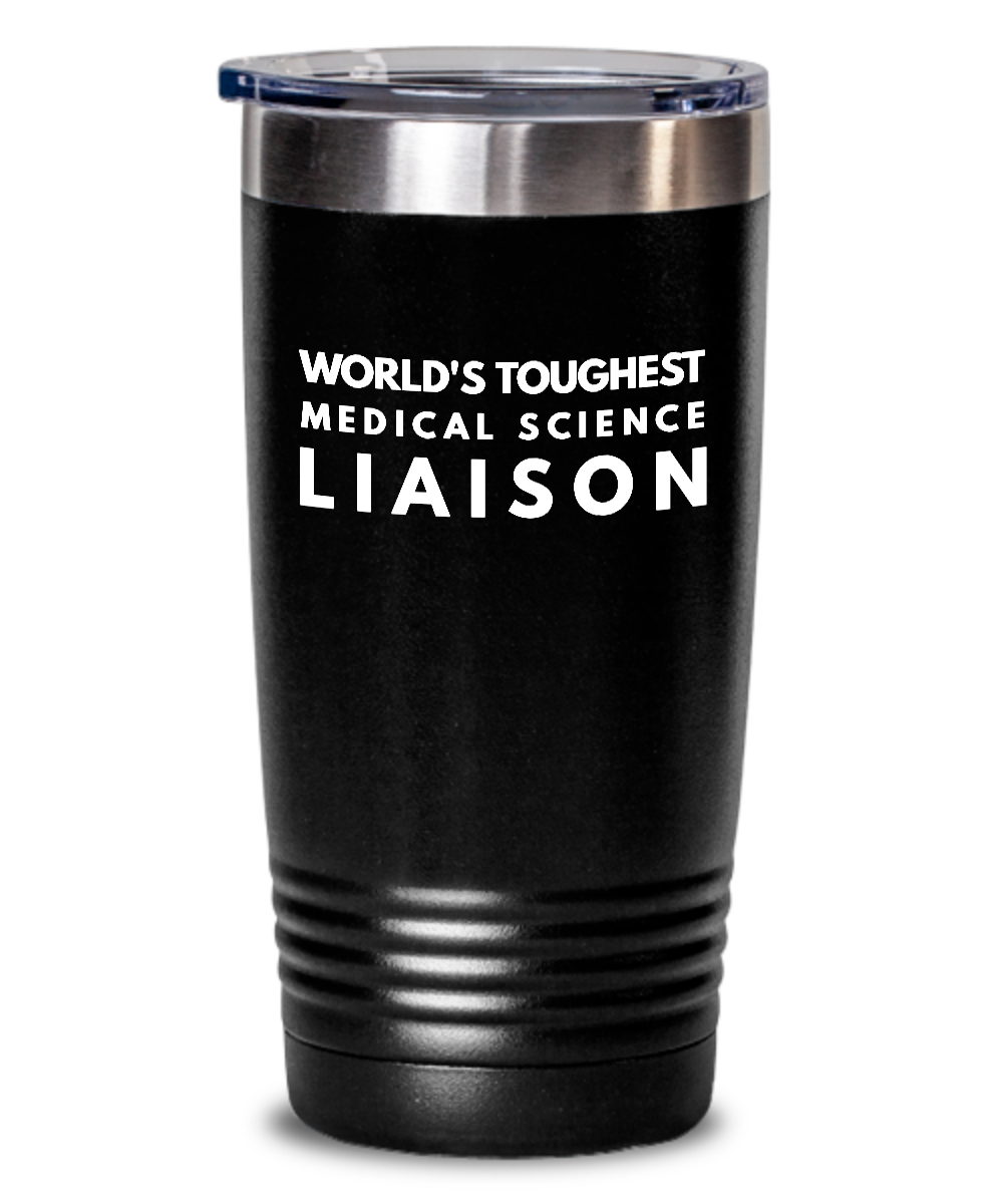 Medical Science Liaison - Novelty Gift White Print 20oz. Stainless Tumblers - Ribbon Canyon