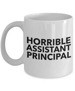 Horrible Assistant Principal Gag Gift for Coworker Boss Retirement or Birthday - Ribbon Canyon