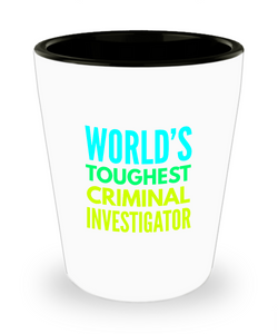 Creative Criminal Investigator Short Glass - Ribbon Canyon