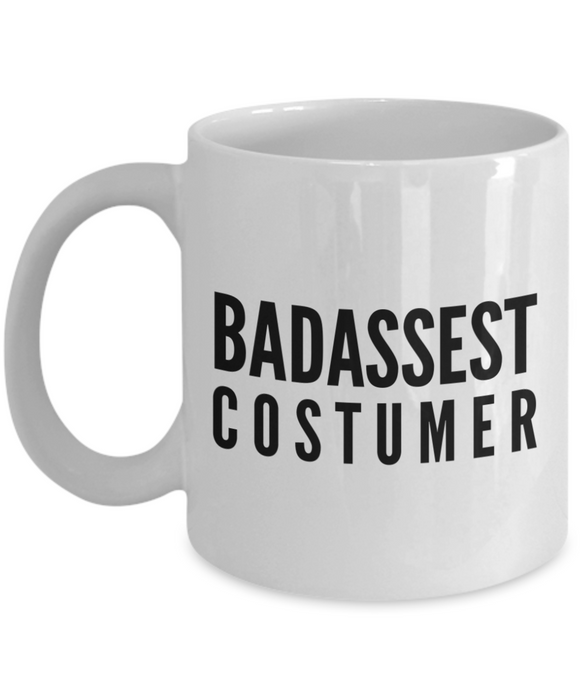 Badassest Costumer Gag Gift for Coworker Boss Retirement or Birthday - Ribbon Canyon