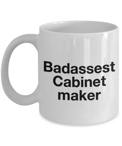 Badassest Cabinet Maker Gag Gift for Coworker Boss Retirement or Birthday - Ribbon Canyon