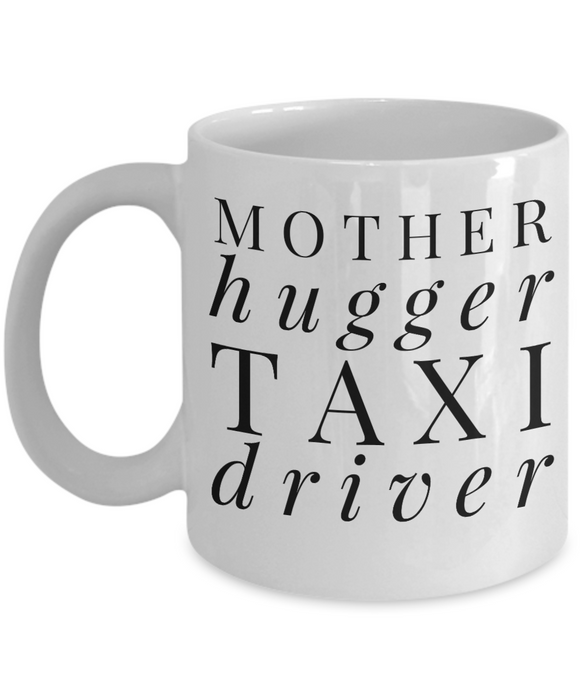 Mother Hugger Taxi Driver Gag Gift for Coworker Boss Retirement or Birthday - Ribbon Canyon