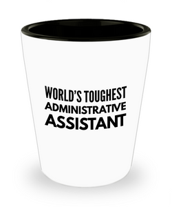 Friend Leaving Novelty Short Glass for Administrative Assistant