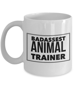 Badassest Animal Trainer Gag Gift for Coworker Boss Retirement or Birthday - Ribbon Canyon