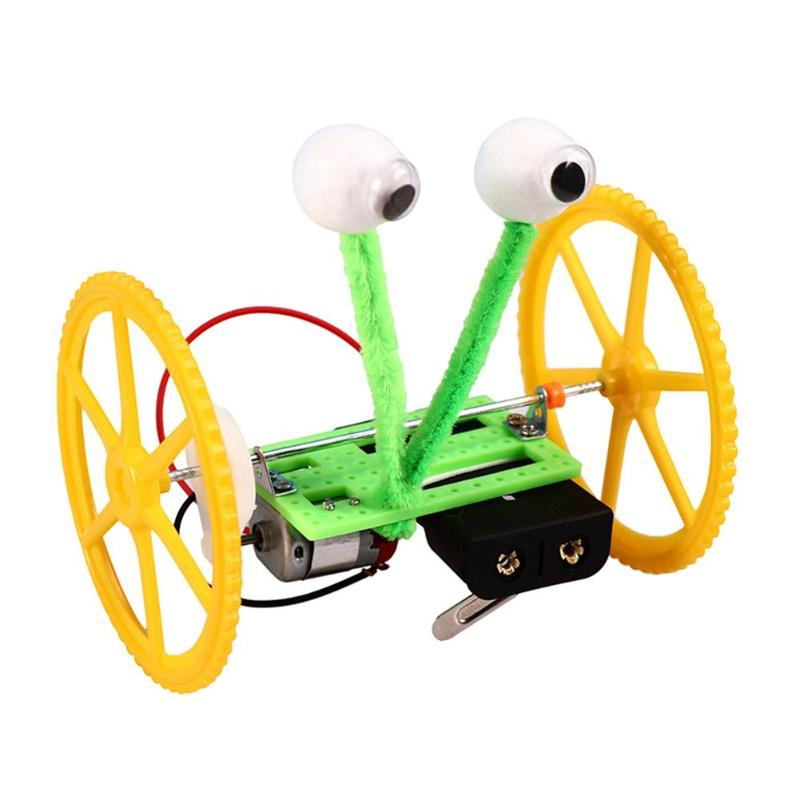 DIY Electric Balancing Vehicle Robot Machine Model Kits Physical Technology Scientific Experiment Educational Toys for kids gift