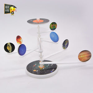 DIY Technological Astronomical Model solar system physics Toy science experiment toys technology planet astronomy planets