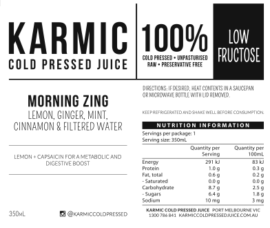 Information On Morning Zing
