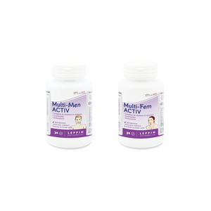 "Couple PACK ""Multi-FEM ACTIV & Multi-MEN ACTIV"""