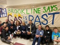 Brookline MA activists