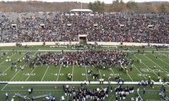 Fossil Fuel Protesters Storm Field at Harvard-Yale Game in New Haven