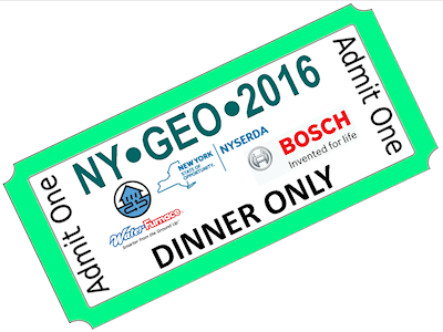 Dinner Only (4/19) - with keynote Speaker