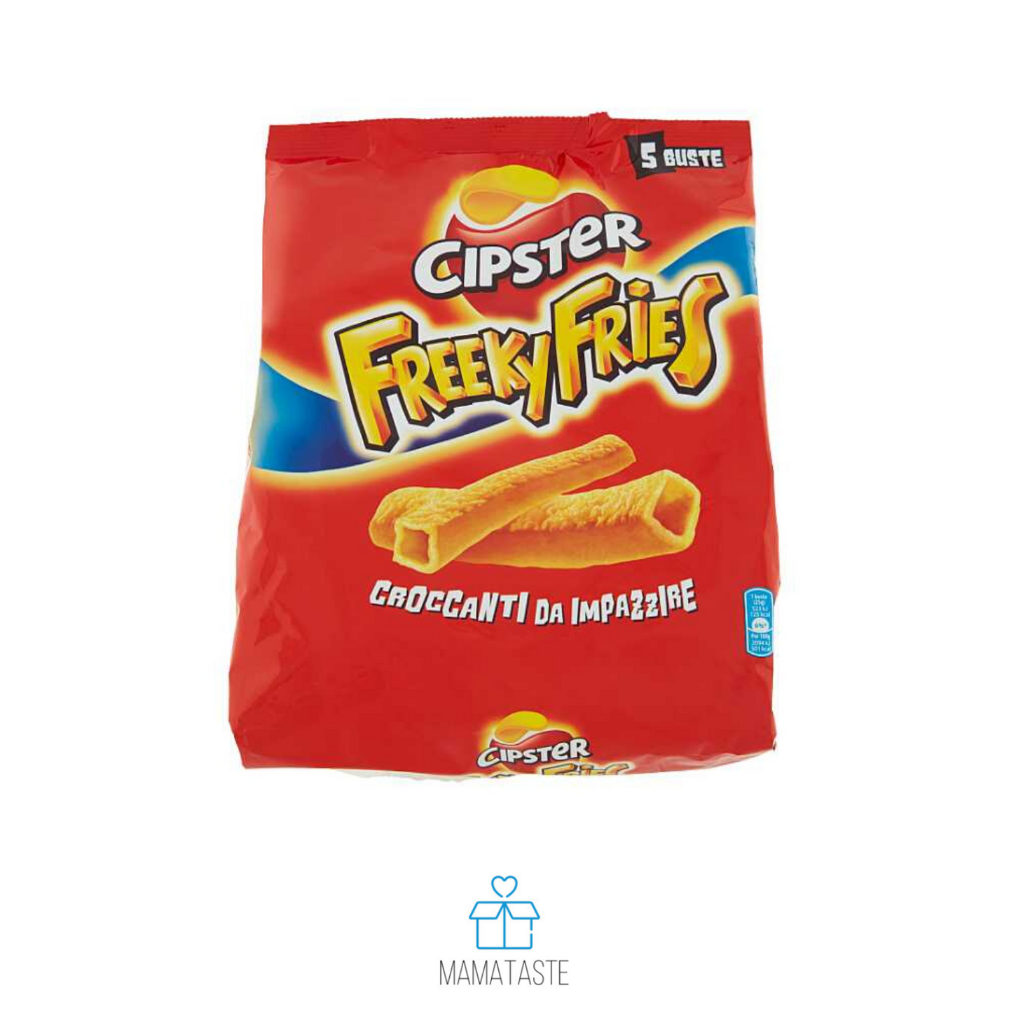 CIPSTER FREEKY FRIES - 5 X 25 GR