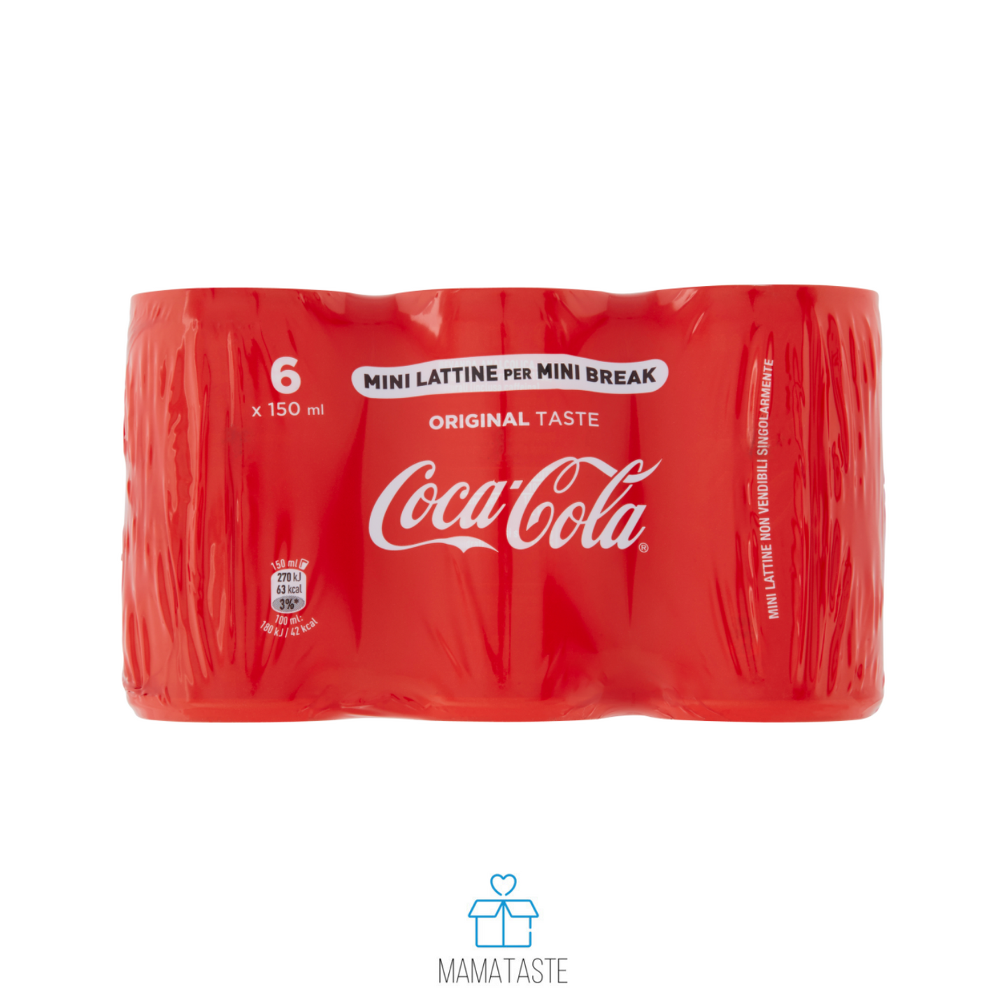 COCA COLA LATTINA 6 X 150 ML