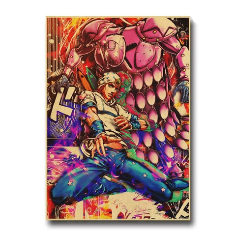 Johnny Joestar Poster