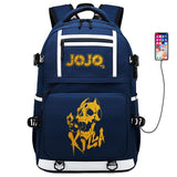 Sac à dos JOJO Killer Queen bleu