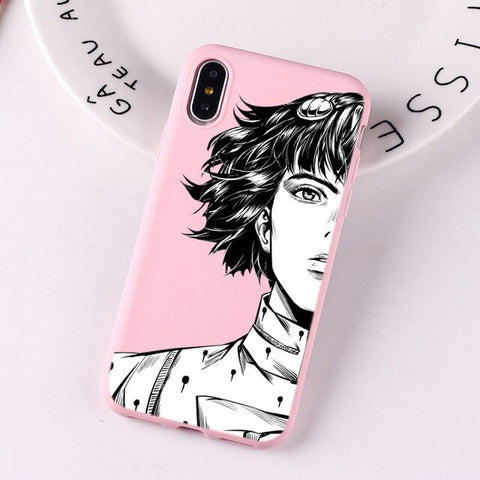 Coque iPhone 6 JOJO rose