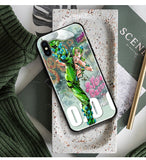 Coque JoJo's Bizarre Adventure iPhone XR verre trempé