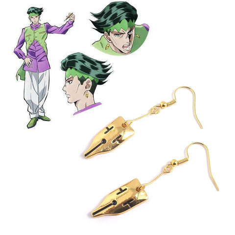 rohan kishibe earrings