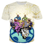 T Shirt JOJO Golden Wind