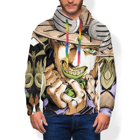 sweat shirt jojo gyro zeppeli