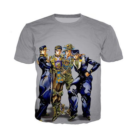 JJBA T Shirt Official