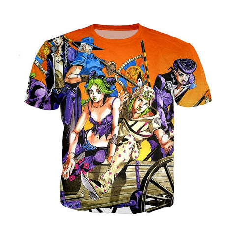 Steel Ball Run T Shirt