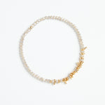 gold + seasalt crystal bracelet