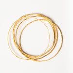 gold stacking bangles