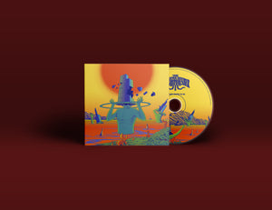 Skyscraper Towards the Sun (Physical CD) - Golden Mammoth