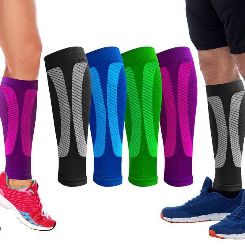 1-Pair: DCF Elite Unisex Calf Compression Sleeves Sports & Outdoors - DailySale