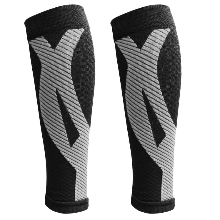 1-Pair: DCF Elite Unisex Calf Compression Sleeves Sports & Outdoors S/M Black - DailySale