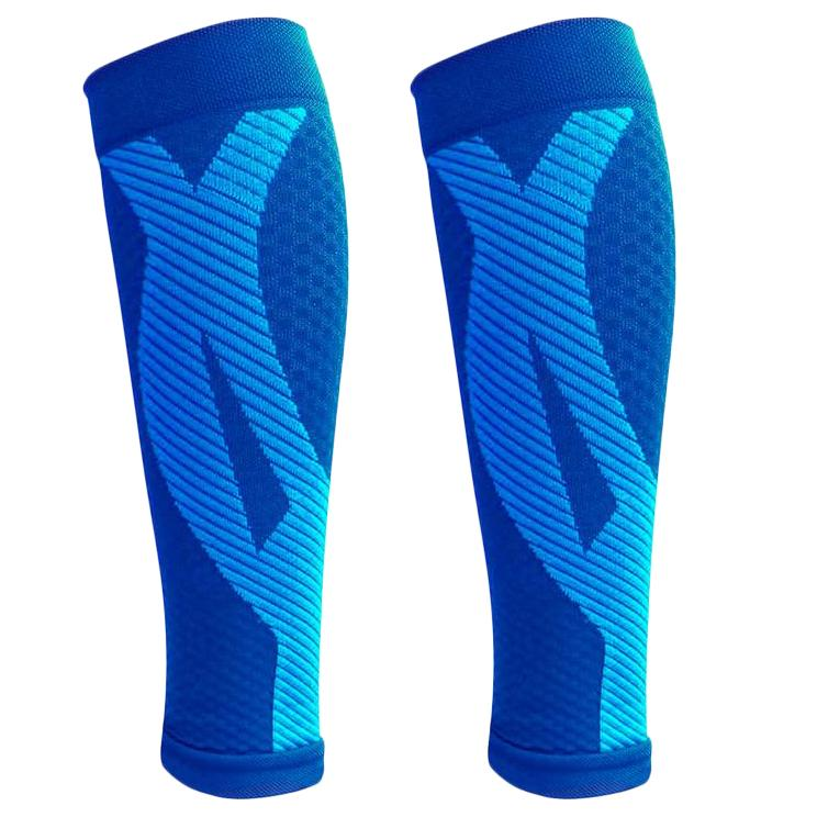 1-Pair: DCF Elite Unisex Calf Compression Sleeves Sports & Outdoors S/M Blue - DailySale