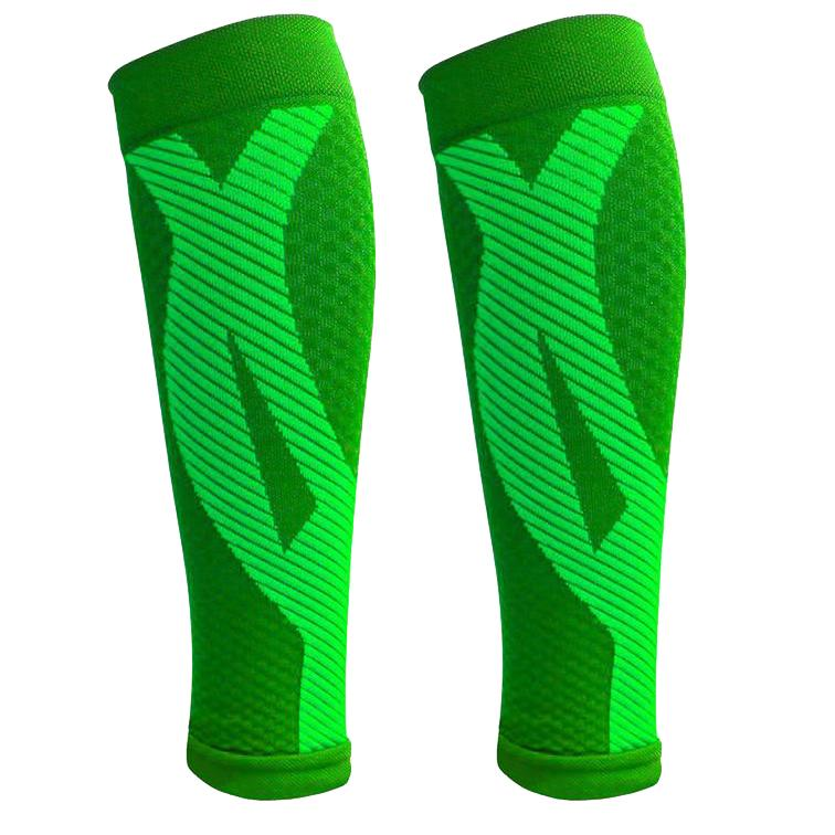 1-Pair: DCF Elite Unisex Calf Compression Sleeves Sports & Outdoors S/M Green - DailySale