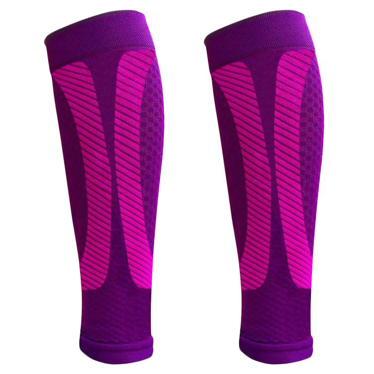1-Pair: DCF Elite Unisex Calf Compression Sleeves Sports & Outdoors S/M Purple - DailySale