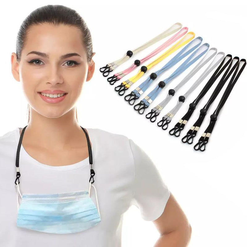 10-Pack: Adjustable Lanyard/Mask Loop Extender Face Masks & PPE - DailySale