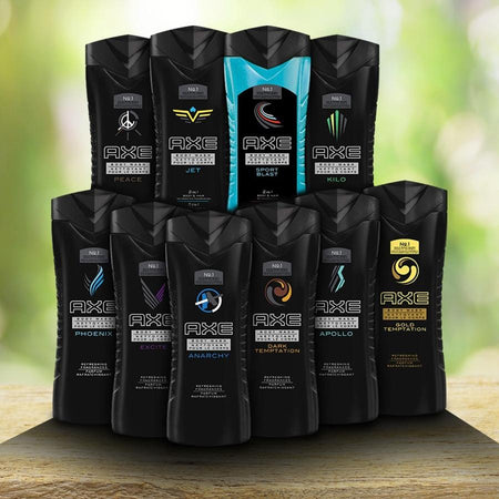 10-Pack: Axe Shower Gel/Body Wash 8.45 oz - Assorted Scents Beauty & Personal Care - DailySale