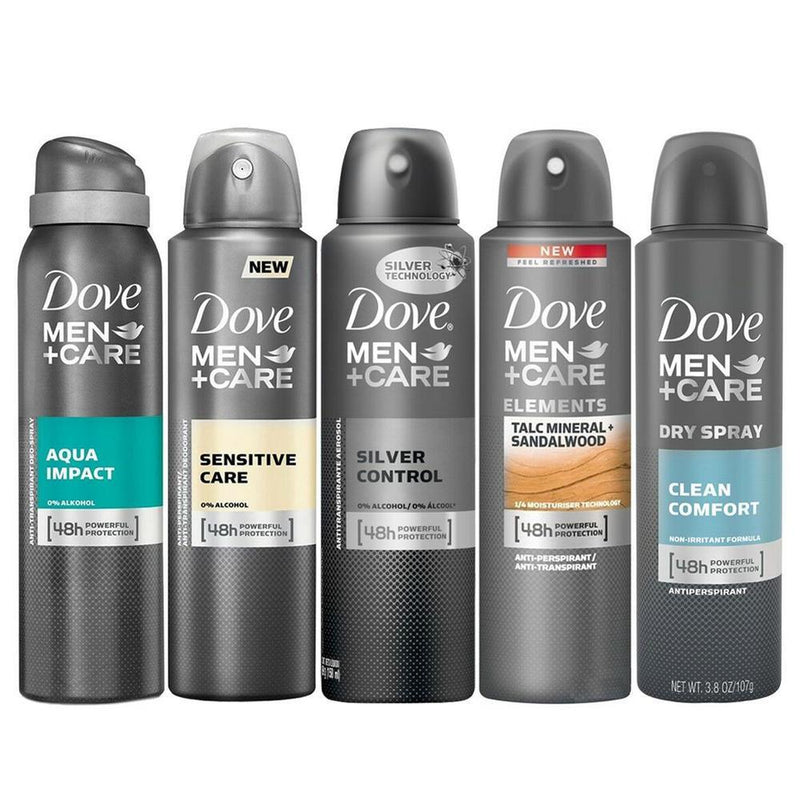 10-Pack: Dove Antiperspirant Spray Deodorant For Men Beauty & Personal Care - DailySale