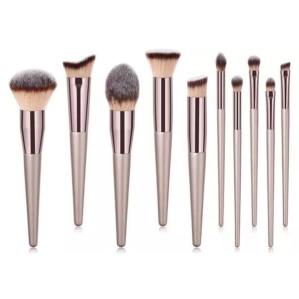 10-Piece Set: Professional Premium Glow Makeup Brush Beauty & Personal Care - DailySale