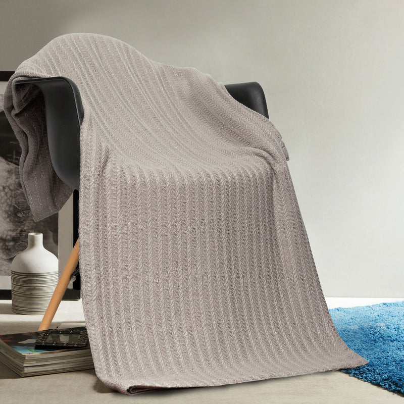 100% Cotton Oversized Heavy Super Soft Throw Blanket Cover