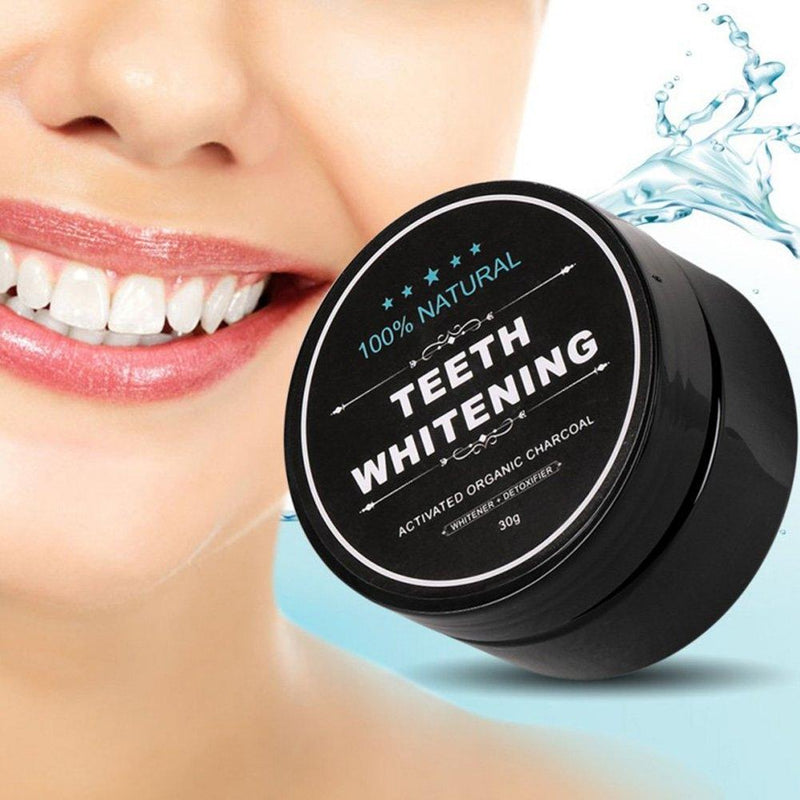 100% Natural Charcoal Teeth Whitening Powder Beauty & Personal Care - DailySale