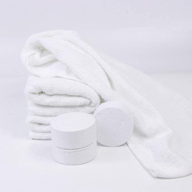 100-Pack: Mini Compressed Towels Bags & Travel - DailySale