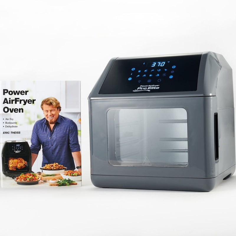 Power Air Fryer 10-in-1 Pro Elite Oven 6-qt with Cookbook - DailySale, Inc