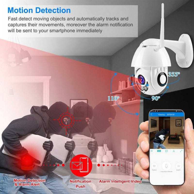 1080P FHD WiFi IP Camera Two-Way Gadgets & Accessories - DailySale