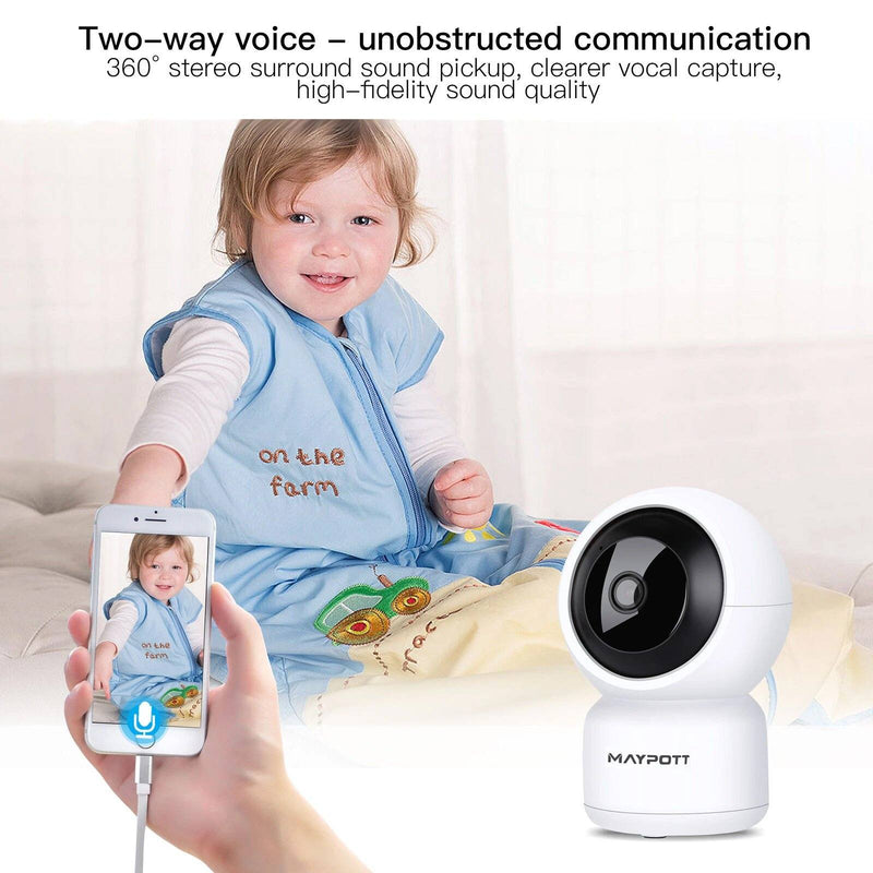 1080P HD Wireless Smart Spy Camera WiFi Security IR Night Vision Baby Monitor Baby - DailySale