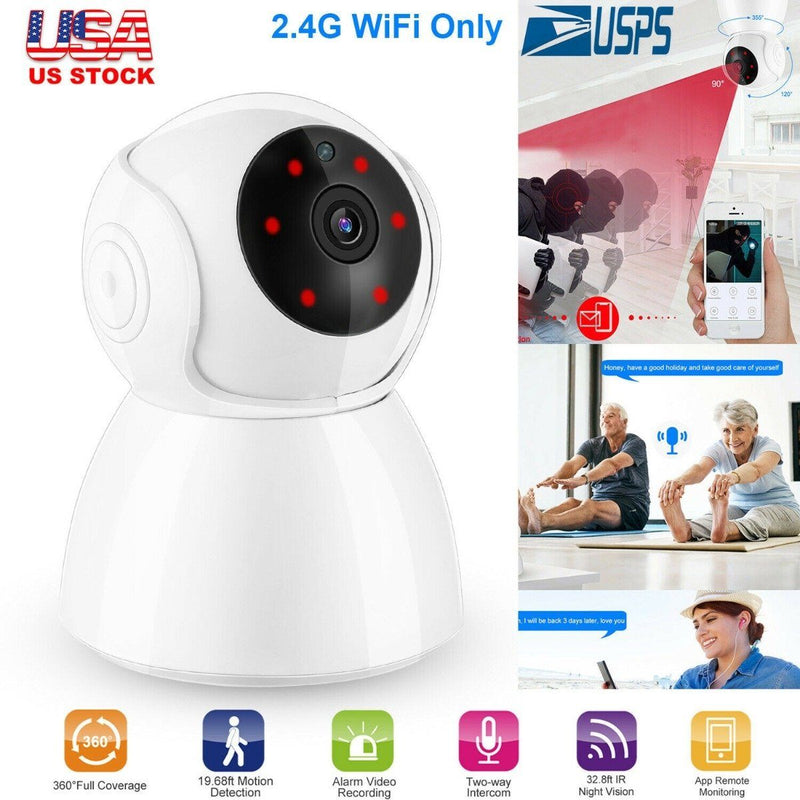 1080P WiFi IP Camera Motion Detection Gadgets & Accessories - DailySale