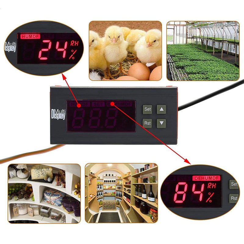 110V Digital Air Humidity Control Controller WH8040 Everything Else - DailySale
