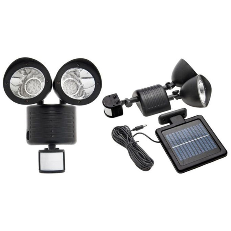 Outdoor Nation Solar Powered 22-LED Security Floodlight - DailySale, Inc