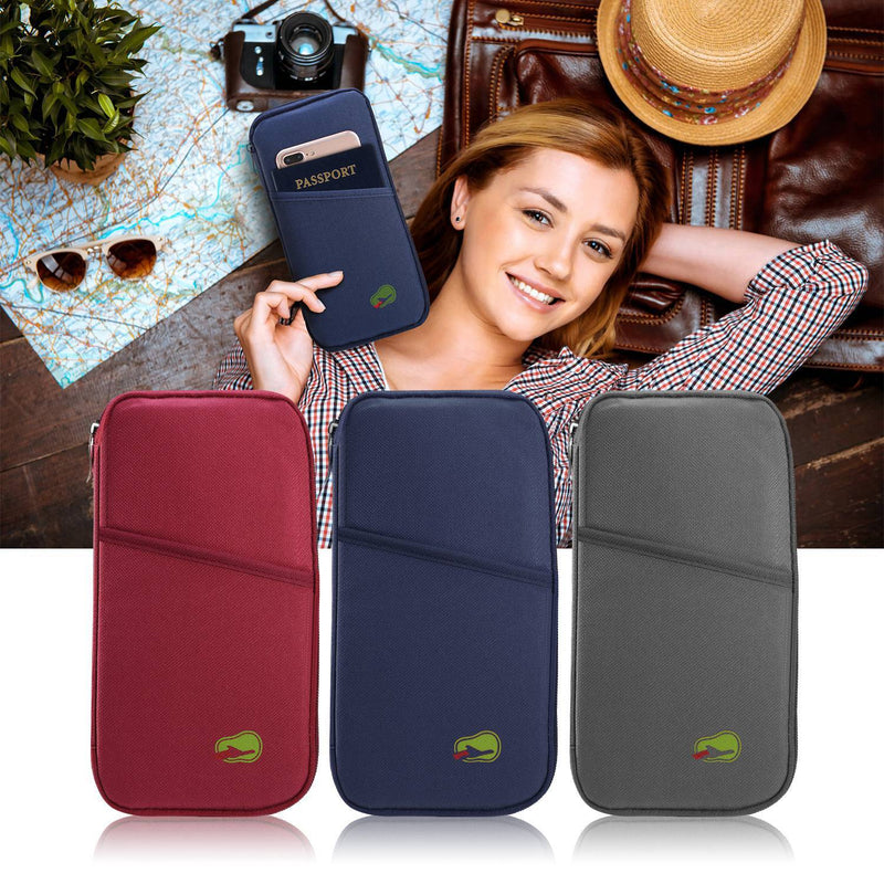 12 Cells Travel Passport Wallet Bags & Travel - DailySale
